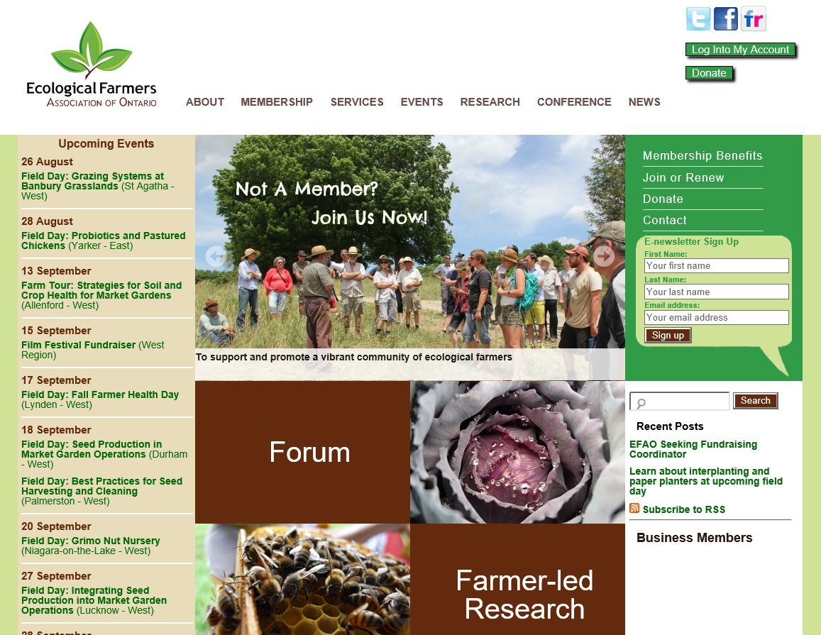 Ecological Farmers Association of Ontario 2